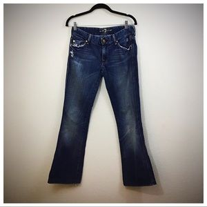 7Fam Bootcut Denim Pants